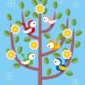 おしゃべりな小鳥たち